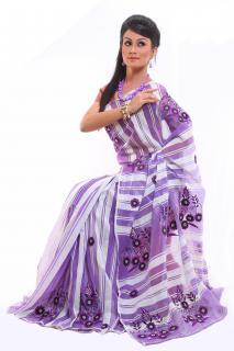 purple,white