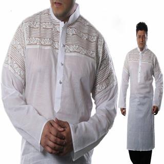 Premium White Panjabi