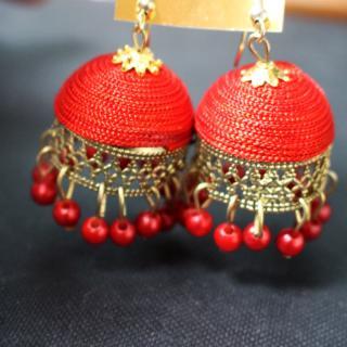 Earring Red