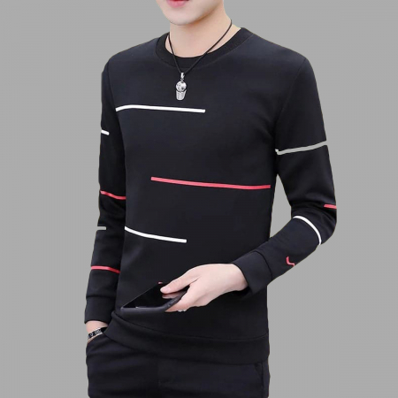 Black Narrow Stripe